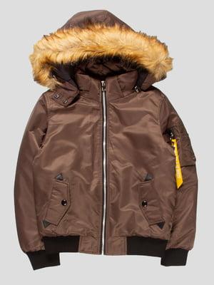 Куртка цвета хаки | 4629718
