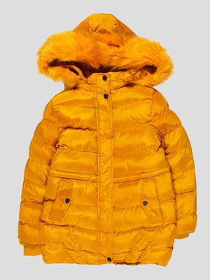 Куртка гірчичного кольору | 4629706