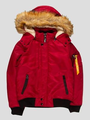 Куртка бордова | 4629720