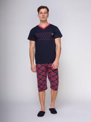 Пижама: футболка и бриджи | 4611268
