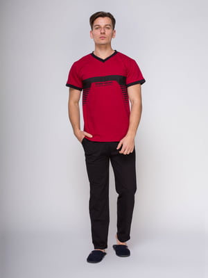 Пижама: футболка и брюки | 4611291
