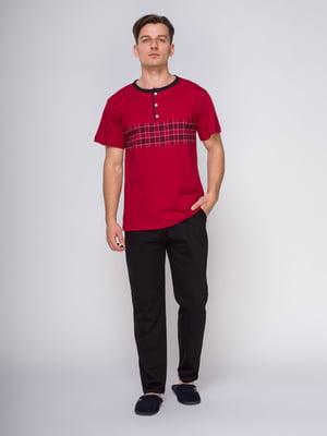 Пижама: футболка и брюки | 4611278
