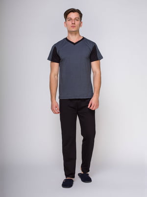 Пижама: футболка и брюки | 4611277