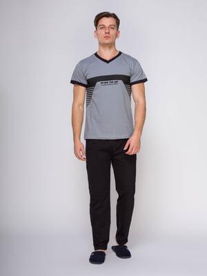 Пижама: футболка и брюки | 4611292