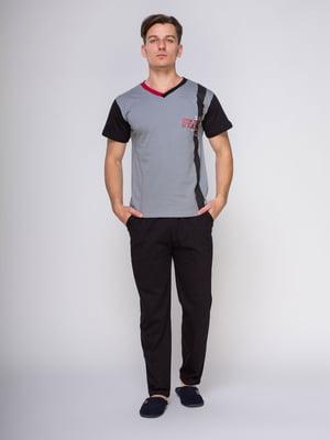 Пижама: футболка и брюки | 4611295