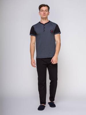 Пижама: футболка и брюки | 4611275