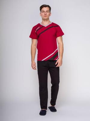 Пижама: футболка и брюки | 4611298