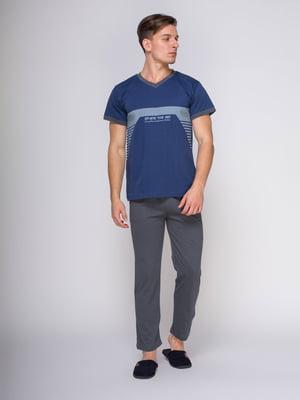 Пижама: футболка и брюки | 4611293