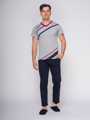 Пижама: футболка и брюки | 4611299