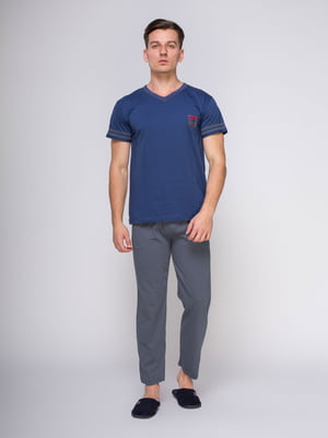 Пижама: футболка и брюки | 4611273