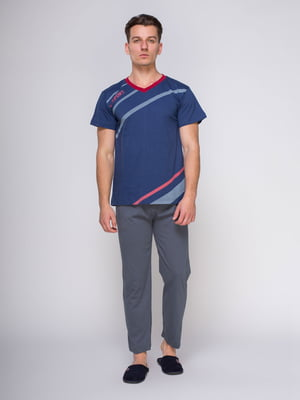 Пижама: футболка и брюки | 4611300