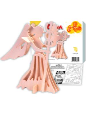 Збірна модель з дерева, 3D пазл «Діва» | 4635092