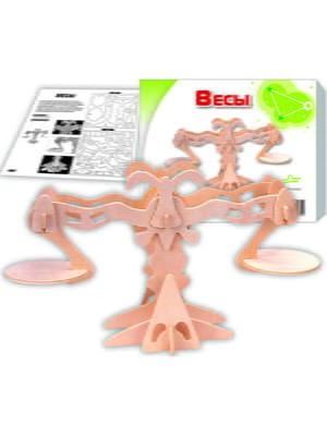 Збірна модель з дерева, 3D пазл «Ваги» | 4635093