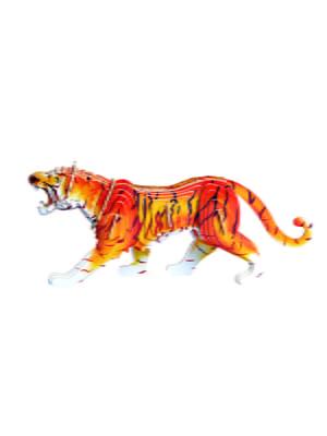 Збірна модель з дерева, 3D пазл «Тигр»   4635103