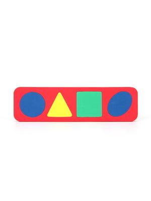 Игрушка рамка-вкладыш «Геометрические формы»   4635139