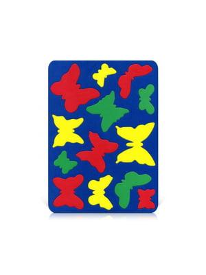 Игрушка рамка-вкладыш «Бабочки» | 4635141