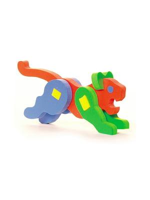 Развивающая игрушка «Объемный конструктор Пантера» | 4635150