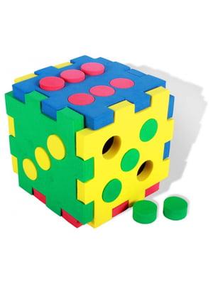 Развивающая игрушка кубик «Мозаика 2»   4635162
