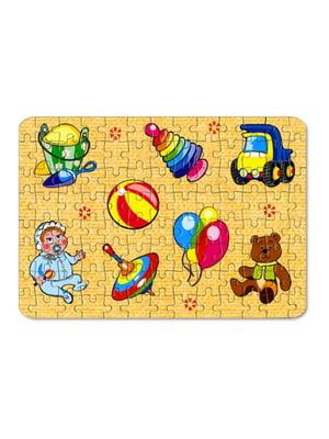 Пазлы для малышей «Игрушки №1» (104 элемента) | 4635164