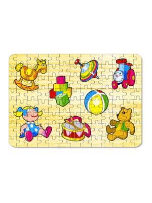 Пазлы для малышей «Игрушки №2» (104 элемента) | 4635165