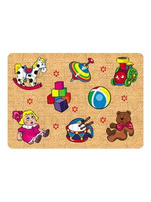 Пазлы для малышей «Игрушки №2» (28 элементов) | 4635166