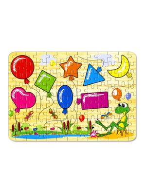 Пазли для малюків «Геометрія» (104 елементи)   4635171