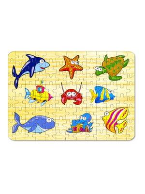 Пазлы для малышей «Морские обитатели» (104 элемента) | 4635172