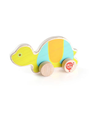 Розвивальна іграшка з дерева каталка «Черепаха»   4635198