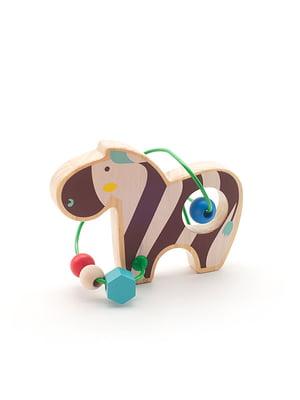 Розвивальна іграшка-лабіринт «Зебра»   4635202