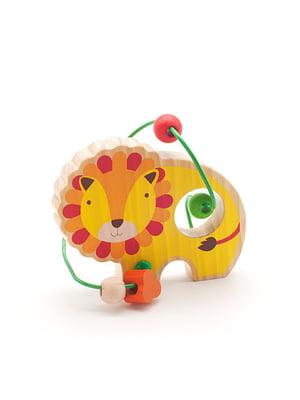 Розвивальна іграшка-лабіринт «Лев»   4635205