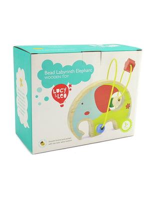 Розвивальна іграшка-лабіринт «Слон»   4635206