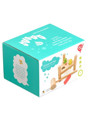 Дерев'яна іграшка-стукалка «Трикутник»   4635216