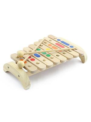 Ксилофон 8 тонів (дерев'яний) | 4635232