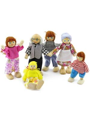 Развивающая игрушка набор кукол (6 штук) | 4635256