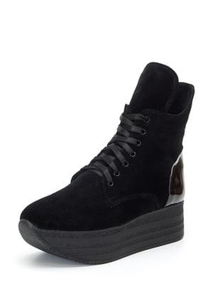 Ботинки черные | 4617489