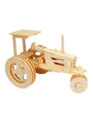 Збірна модель з дерева, 3D пазл «Трактор» | 4635112