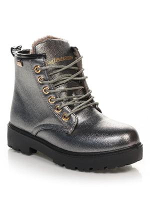 Ботинки серебристые | 4629470