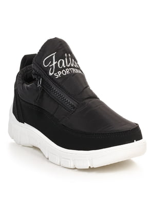 Ботинки черные | 4629482