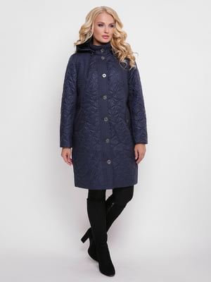 Пальто синее | 4636023