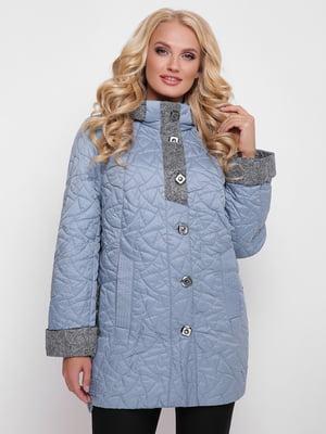 Пальто голубое | 4636027
