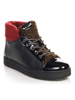 Ботинки черные | 4632215