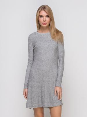 Платье серебристое | 4563372