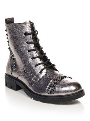 Ботинки темно-синие | 4632130