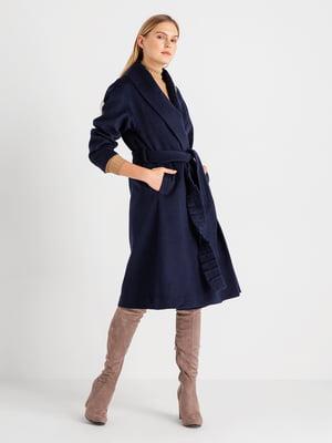 Пальто темно-синє   4641969