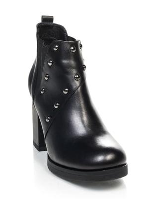 Ботинки черные | 4637240