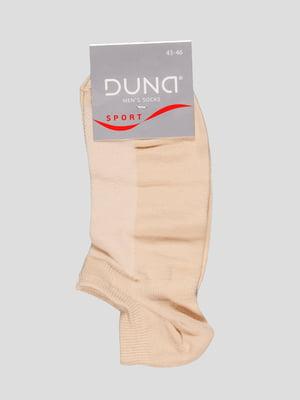 Шкарпетки світло-бежеві | 2837638
