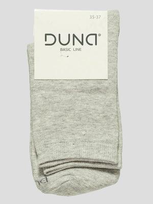Шкарпетки світло-сірі | 4568336