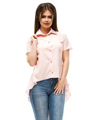 Рубашка цвета пудры | 4613500