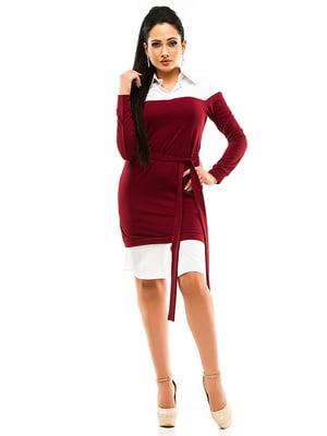 Платье двухцветное | 4613557