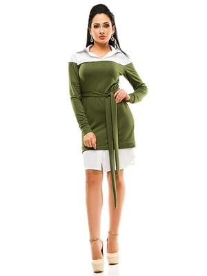 Платье двухцветное | 4613559